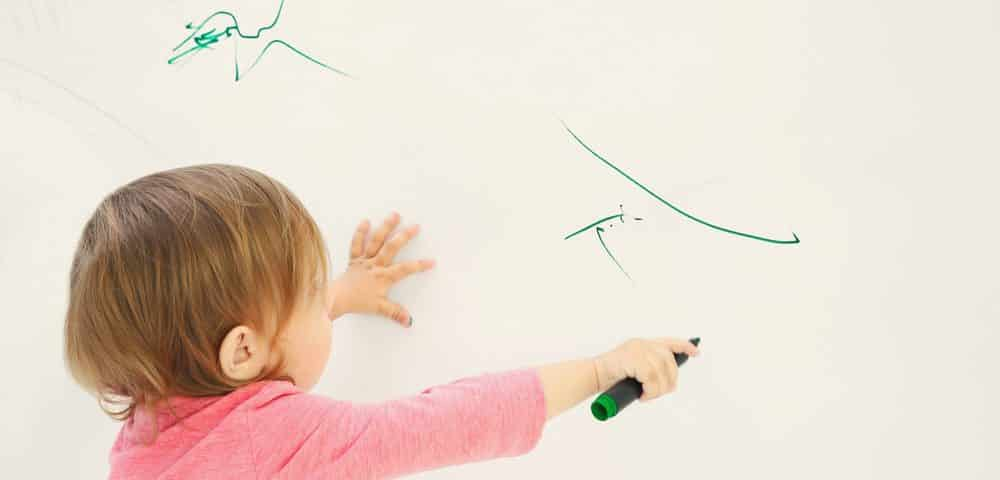 How to Get Crayon, Pen, and Marker Off Your Walls