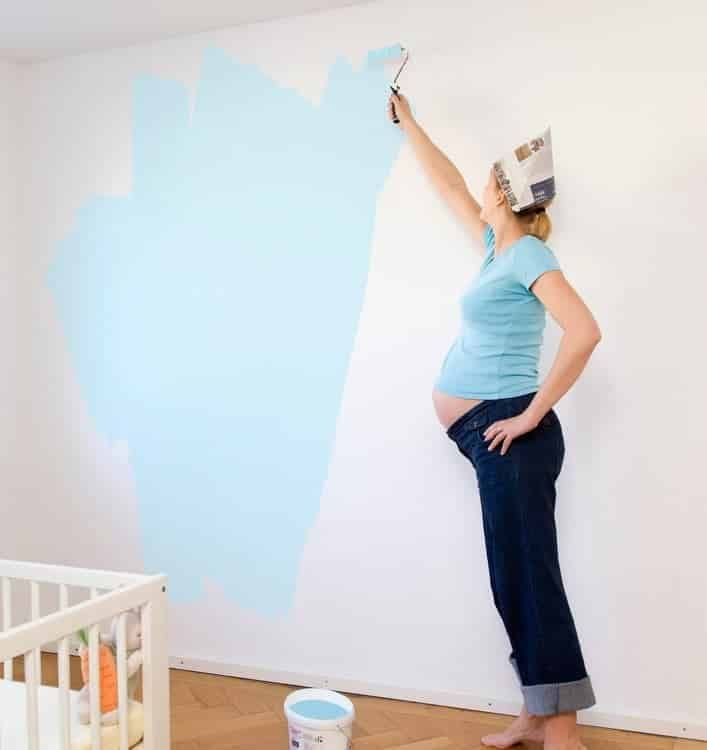 Is it Safe to Have Your House Painted When You're Pregnant? Here's All You Need to Know