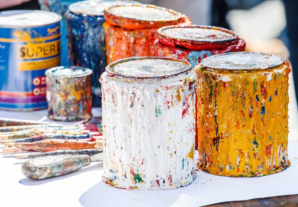 How to Store Paint and Chemicals in the Winter Months