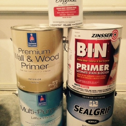various paint primers