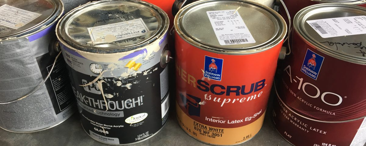 what to do with old paint