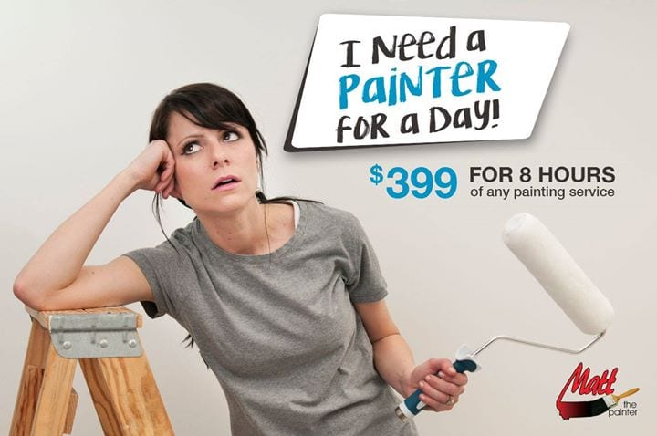 $399 painting for 8 hours